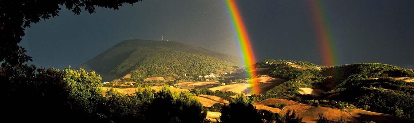 Risultato immagini per foto natura arcobaleno