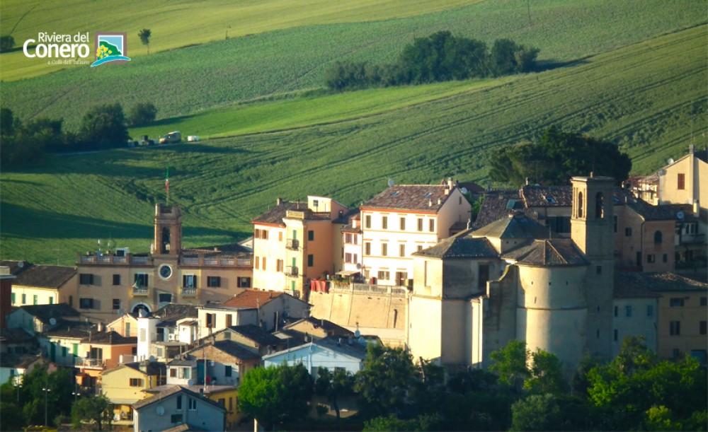 Polverigi Borgo Nella Terra Dei Castelli Del Conero Marche