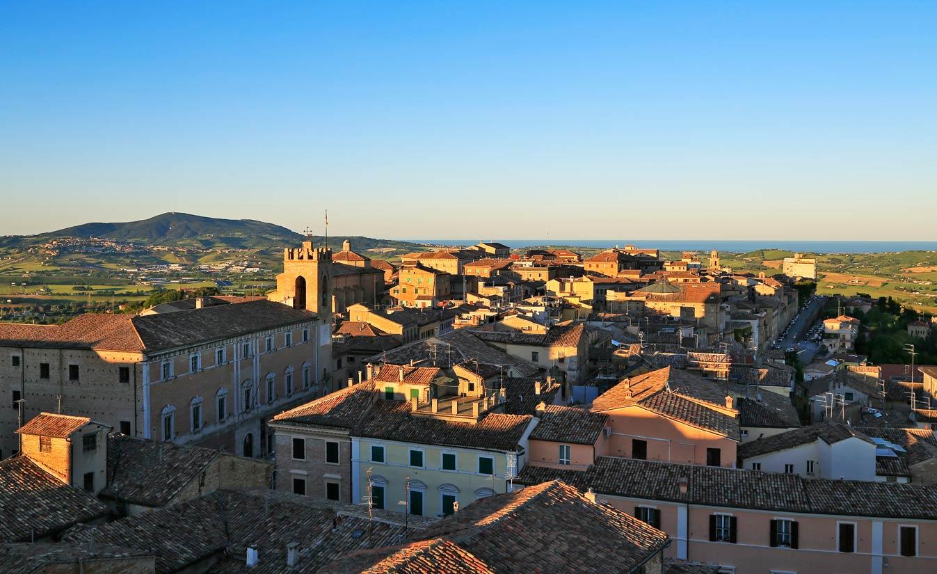 Osimo Citt 224 Sulle Colline Del Conero Nelle Marche