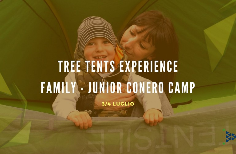 TREE TENTS EXPERIENCE FAMILY/JUNIOR CONERO CAMP