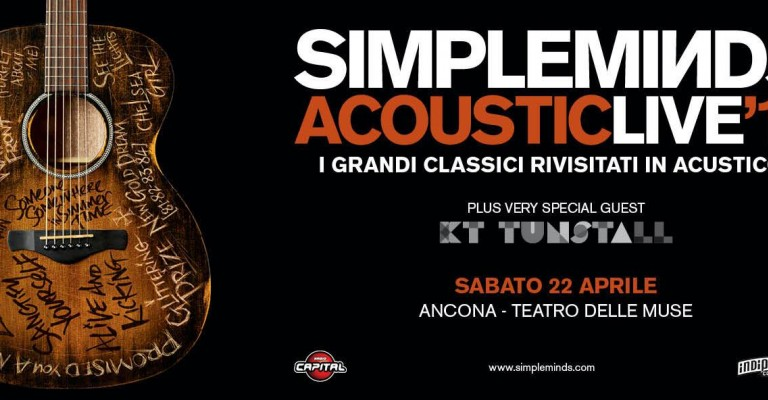Simple Minds in concerto a Ancona