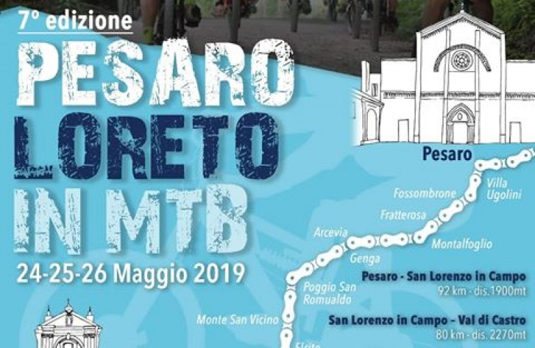 Pesaro – Loreto in Mountain Bike (MTB)