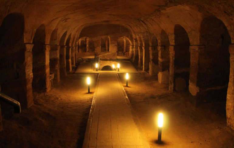 The Underground City in Camerano