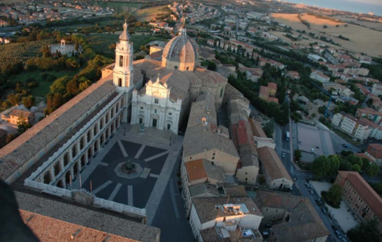The Basilica of the Holy House in Loreto