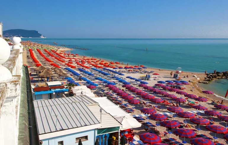 The Beaches of Porto Recanati