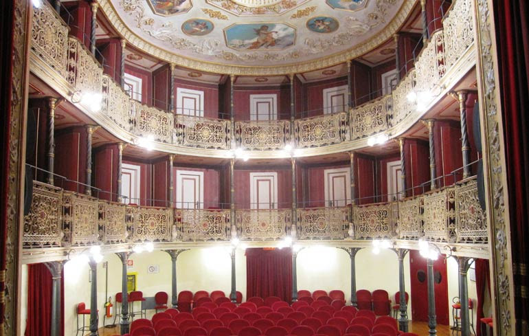 Das Theater La Rondinella in Montefano